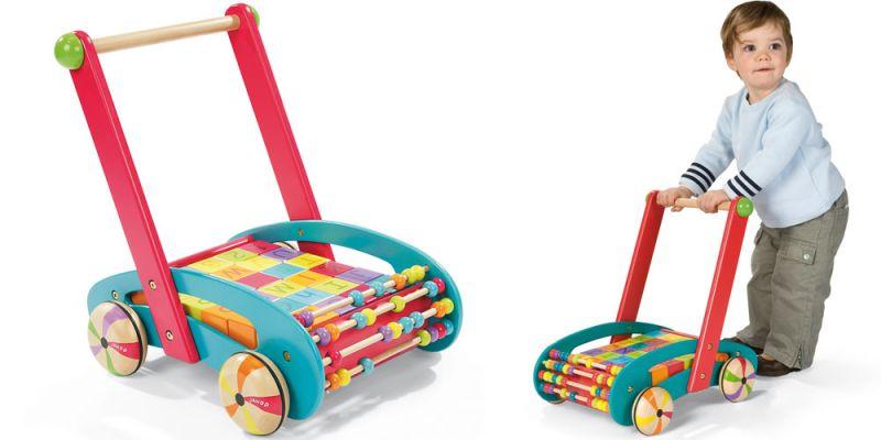 trouver des jouets tirer ou pousser en bois partir. Black Bedroom Furniture Sets. Home Design Ideas